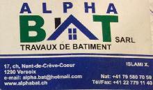 ALPHA BAT Travaux de bâtiment